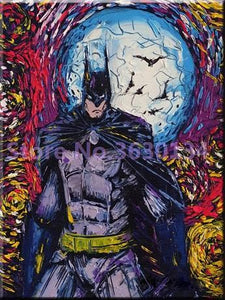 5D Diamond Painting Abstract Batman Kit
