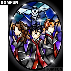 5D Diamond Painting Abstract Harry Potter Kit