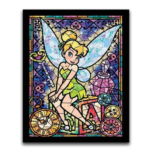 5D Diamond Painting Abstract Tinkerbell Kit