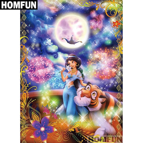 5D Diamond Painting Aladdin Kit