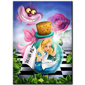 5D Diamond Painting Alice in a Bottle Kit