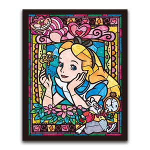 5D Diamond Painting Alice in Wonderland Kit