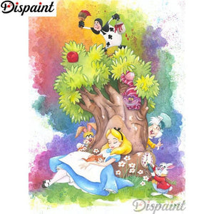 5D Diamond Painting Alice's Dream Kit