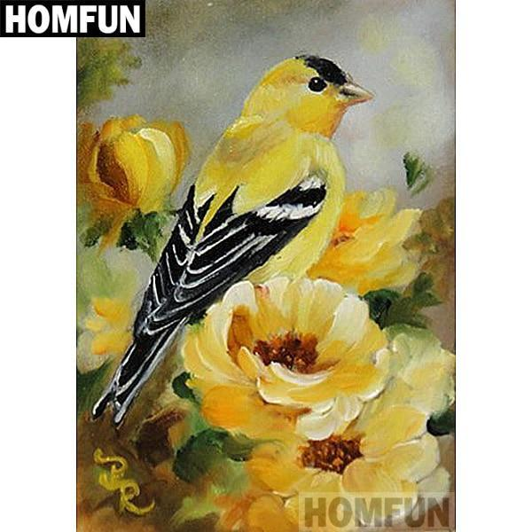 5D Diamond Painting American Goldfinch Kit