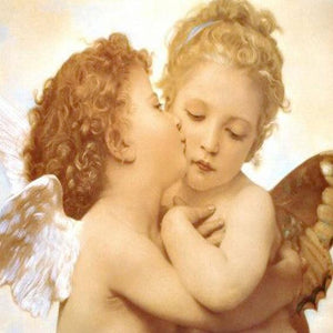5D Diamond Painting Angel Kiss Kit