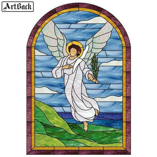 5D Diamond Painting Angel with a Branch Kit