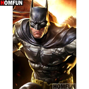 5D Diamond Painting Angry Batman Kit