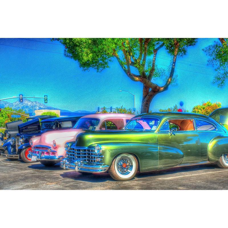 5D Diamond Painting Antique Cars Kit