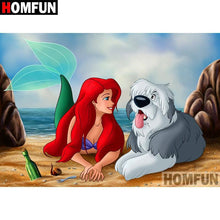 5D Diamond Painting Ariel and Max Kit
