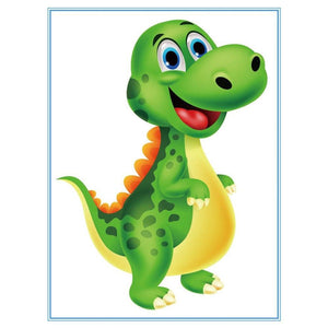 5D Diamond Painting Baby Dinosaur Kit