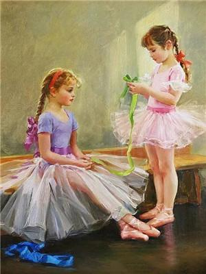 5D Diamond Painting Ballet Bows  Kit