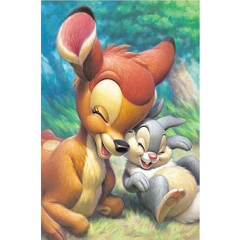 5D Diamond Painting Bambi and Thumper Kit