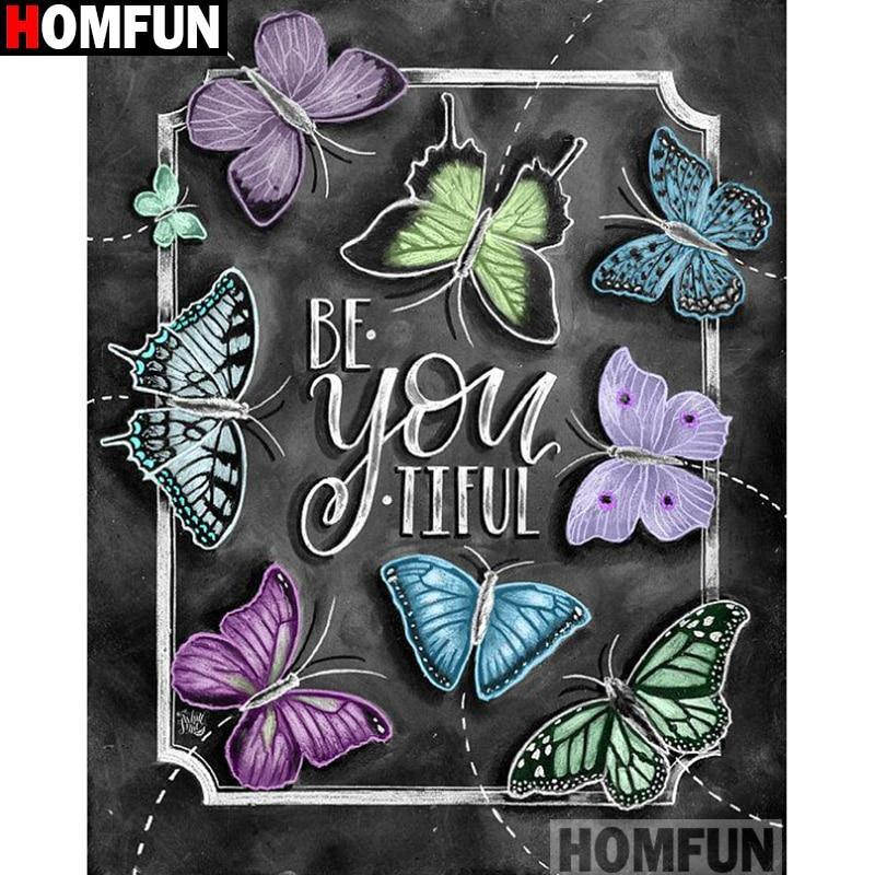 5D Diamond Painting Be You-tiful Chalk Board Kit