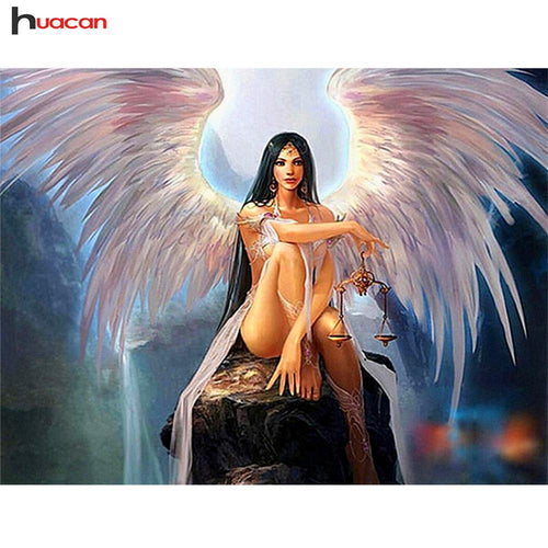 5D Diamond Painting Beautiful Angel