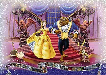 5D Diamond Painting Beauty and the Beast Arm in Arm Kit
