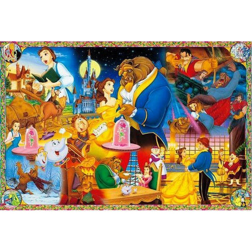 5D Diamond Painting Beauty and The Beast Collage Kit