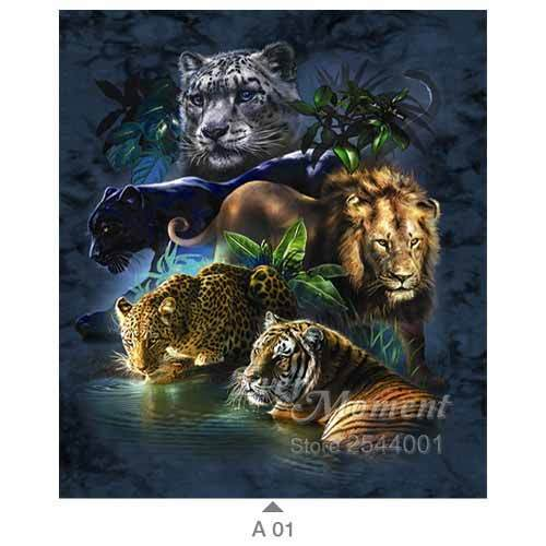 5D Diamond Painting Big Cats Kit