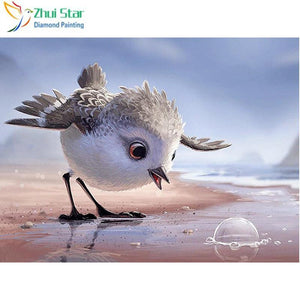 5D Diamond Painting Bird and the Bubble Kit