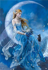 5D Diamond Painting Blue Fairy Kit