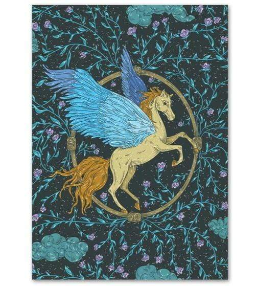 5D Diamond Painting Blue Wing Pegasus Kit