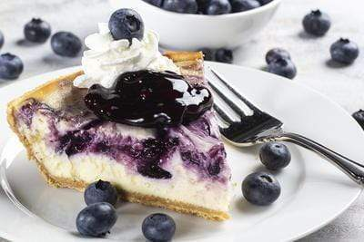 5D Diamond Painting Blueberry Cheesecake Kit