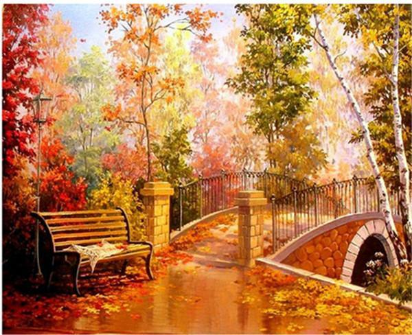 5D Diamond Painting Bridge Kit