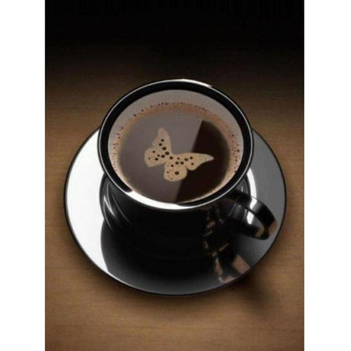 5D Diamond Painting Butterfly Coffee Cup Kit