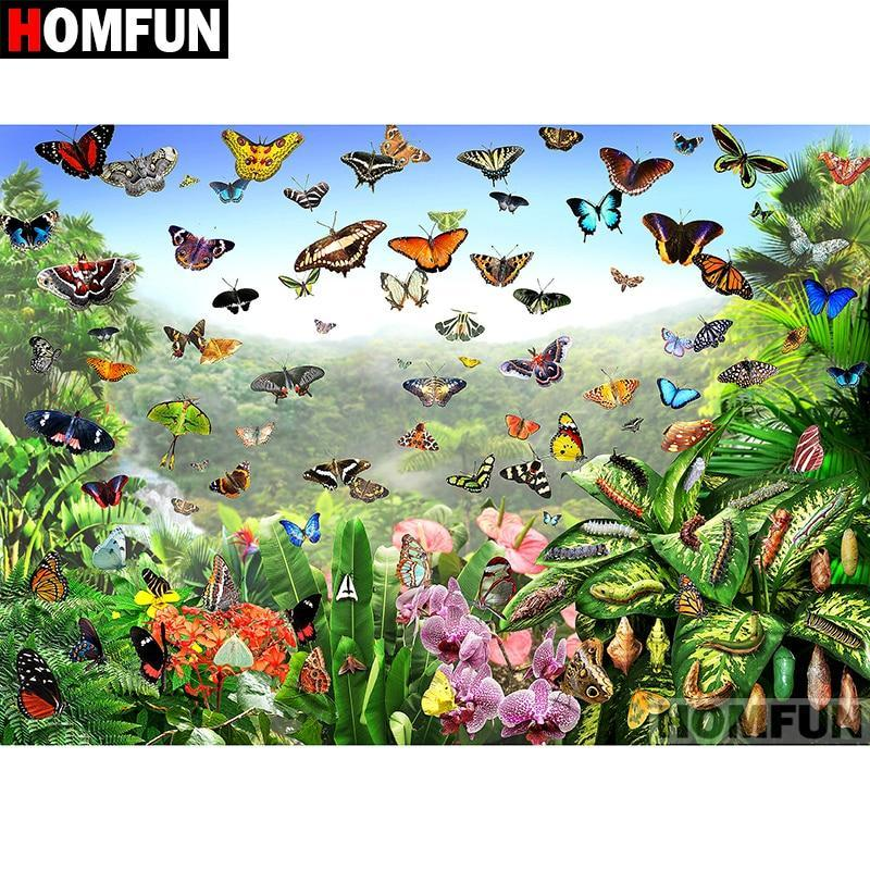5D Diamond Painting Butterfly Skies Kit