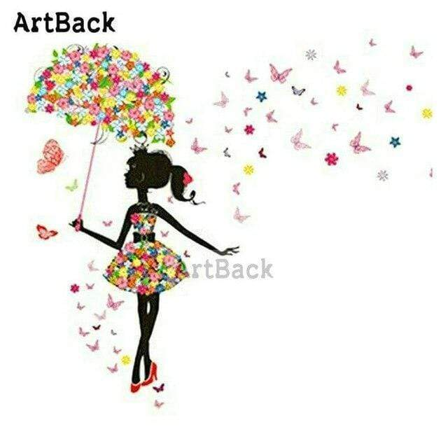 5D Diamond Painting Butterfly Umbrella Kit