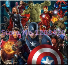 5D Diamond Painting Captain America and Friends Kit