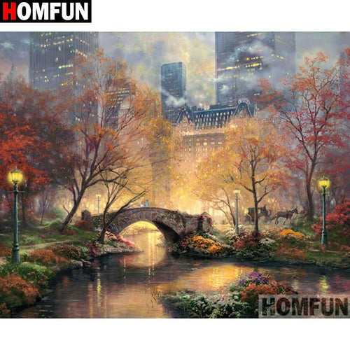 5D Diamond Painting Central Park in New York Kit