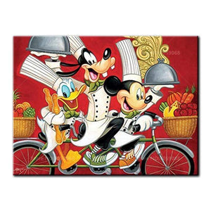 5D Diamond Painting Chef Mickey and Friends Kit