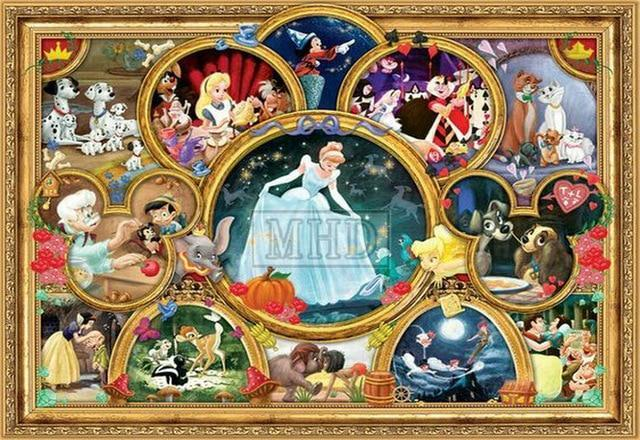 5D Diamond Painting Cinderella Collage Kit
