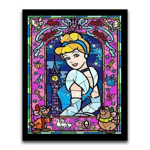 5D Diamond Painting Cinderella Kit