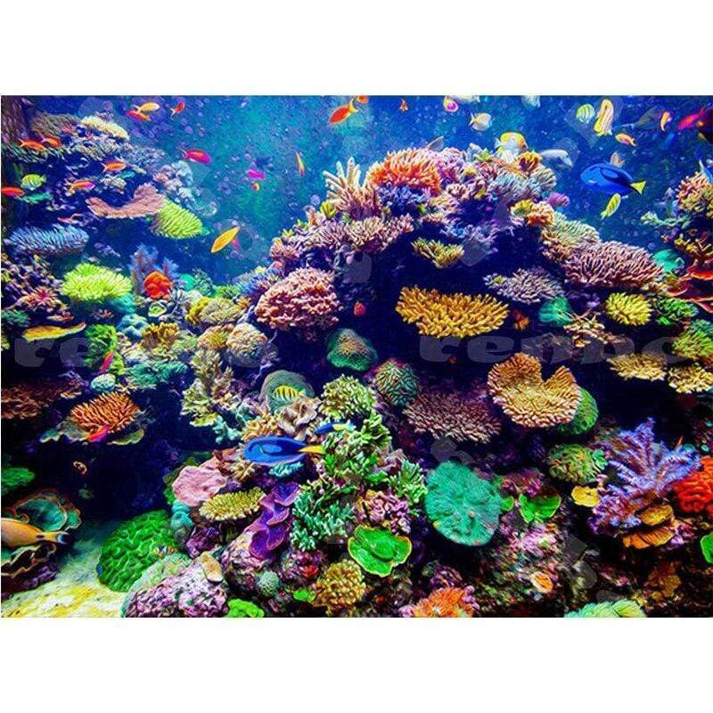 5D Diamond Painting Coral Reef Kit
