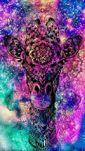 5D Diamond Painting Cosmic Giraffe