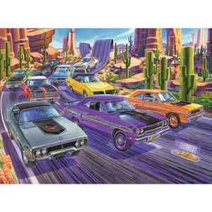 5D Diamond Painting Desert Car Race Kit