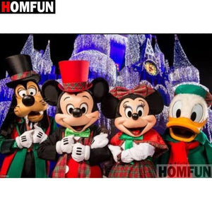 5D Diamond Painting Disney Carolers Kit