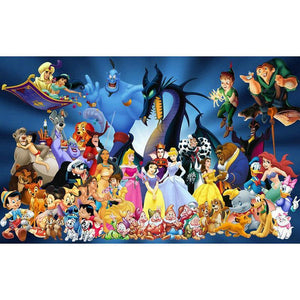 5D Diamond Painting Disney Character Spectacular Kit