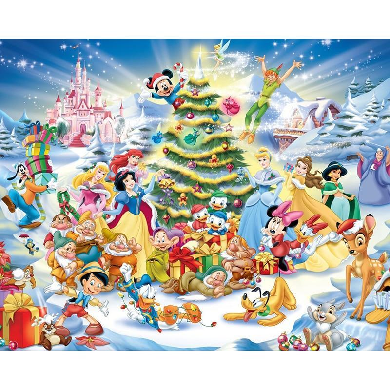 5D Diamond Painting Disney Christmas Kit