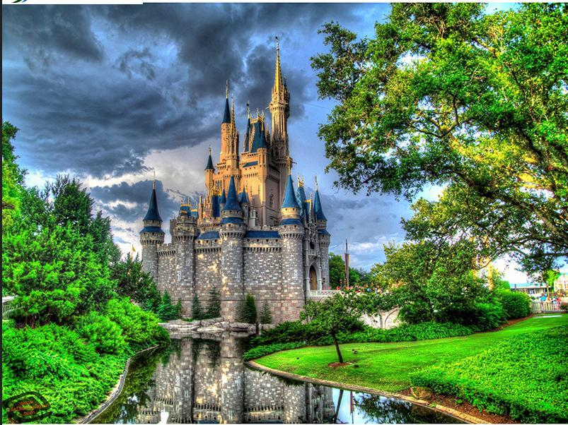 5D Diamond Painting Disney Cinderella Castle Kit