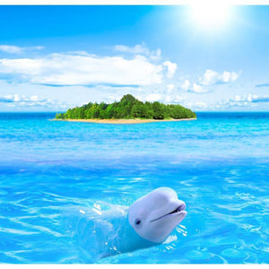 5D Diamond Painting Dolphin Island Kit
