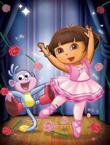 5D Diamond Painting Dora and Boots Kit