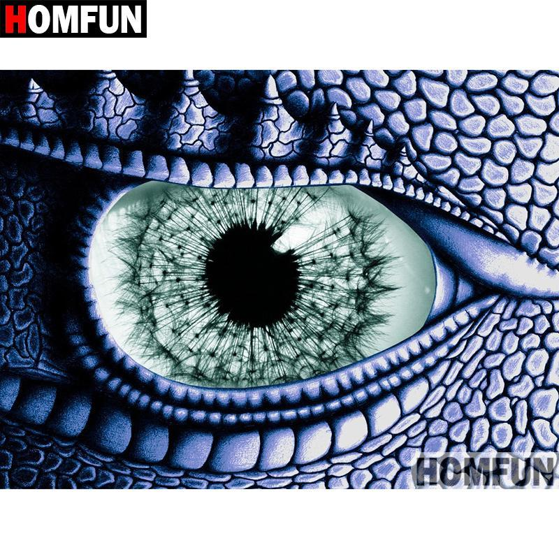 5D Diamond Painting Dragon Eye Kit
