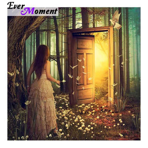 5D Diamond Painting Dream Door Kit