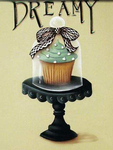 5D Diamond Painting Dreamy Cupcake Kit