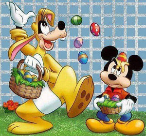 5D Diamond Painting Easter Bunny Goofy Kit