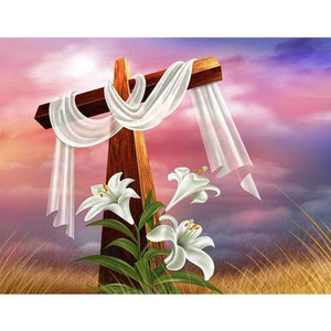 5D Diamond Painting Easter Cross Kit