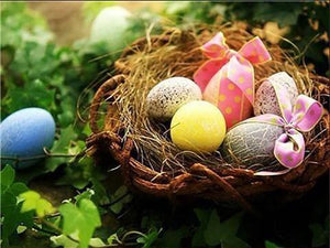 5D Diamond Painting Easter Egg Nest Kit