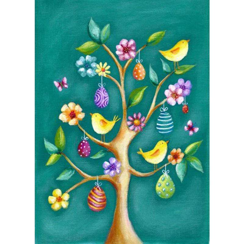 5D Diamond Painting Easter Egg Tree Kit